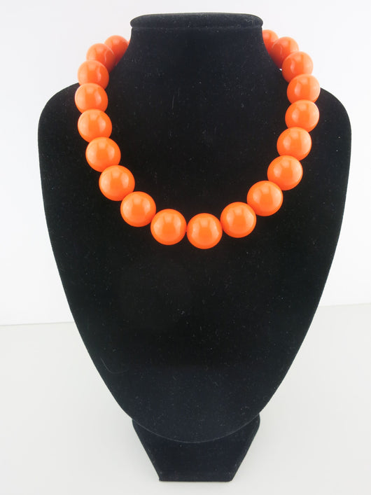 Counter Culture Republic - Chunky Orange Necklace