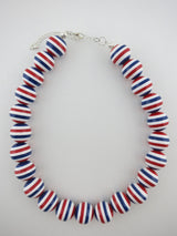 Nautical Striped Necklace
