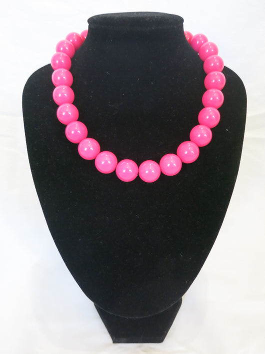 Counter Culture - Chunky Pink Necklace
