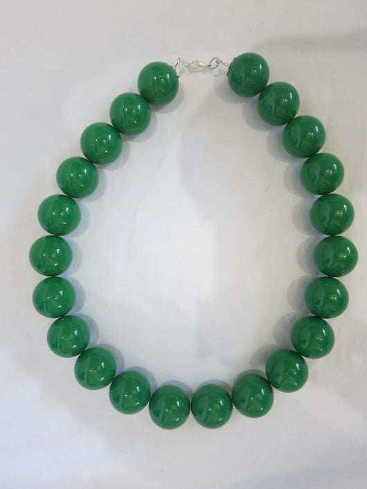 Counter Culture - Chunky Green Necklace