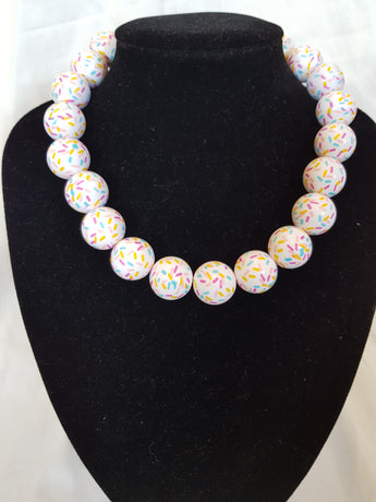 Counter Culture Republic - Cupcake Sprinkle Necklace