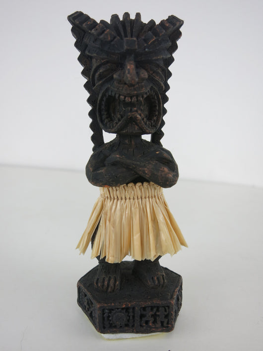 Dashboard Doll - Tiki in Grass Skirt