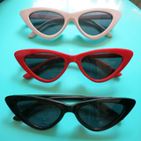 Cats Eye Sunglasses Red, Black or White