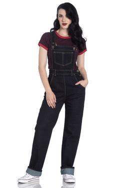 Hell Bunny Elly May Dungarees XS - XL