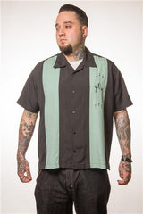 Steady Clothing The Shakedown Button Up Shirt Mint - XS to 2XL