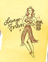 Steady Lounge Forever Tee Yellow S - 3XL