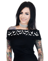 Too Fast Foxy off the shoulder top - Moon Bats S-2XL