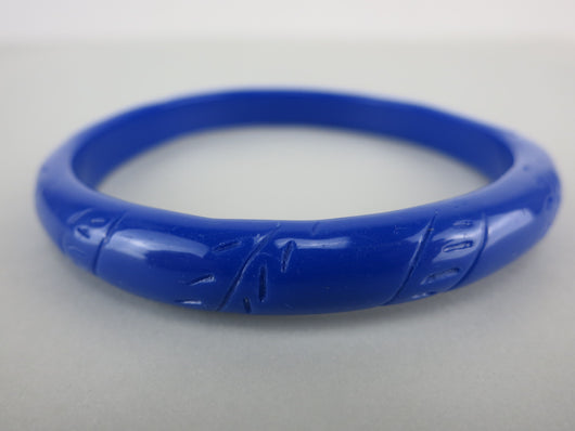 Bangle - Royal Blue Fern