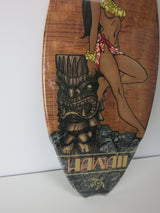 Hula Girl Surfboard