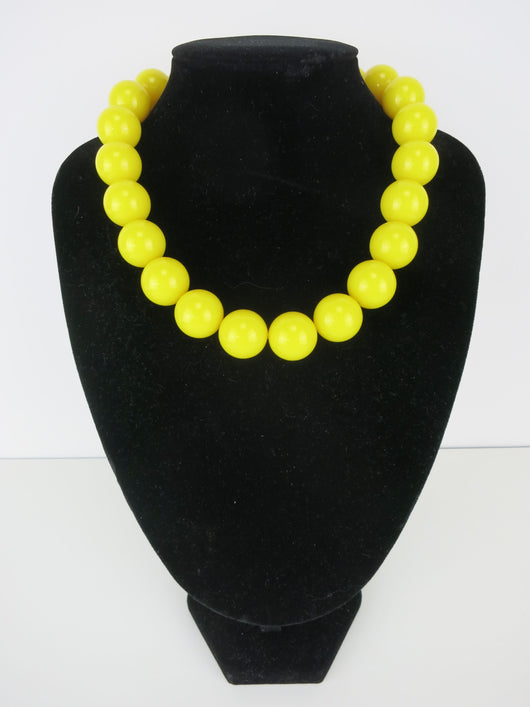 Counter Culture - Chunky Mustard Necklace