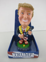 Dashboard Doll - Donald Trump USA President with Ukulele