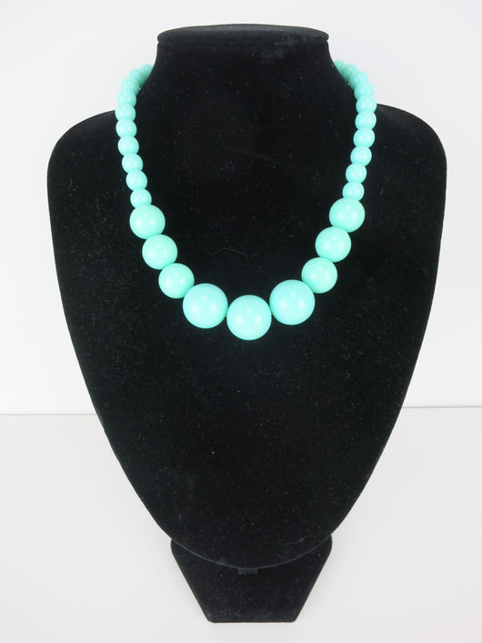 Gumball Necklace - Mint Grande