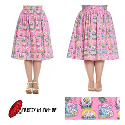 Hell Bunny Maxine Skirt XS to 4XL