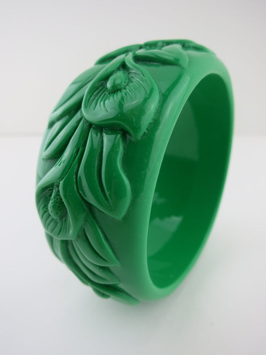Bangle Green Lily Flower