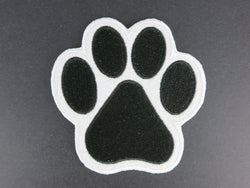 Paw Print Iron On Patch - Large