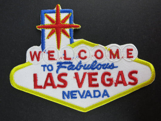 Welcome to Fabulous Las Vegas Nevada Iron On Patch