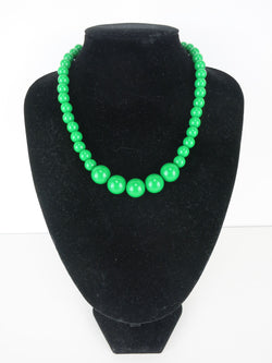 Counter Culture Gumball Necklace - Petit Green