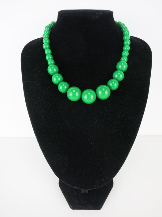 Gumball Necklace - Verde Grande