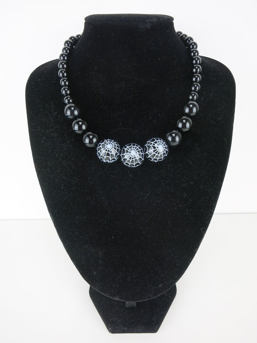 Counter Culture Republic - Triple Spiderweb Gumball Necklace