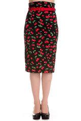 Hell Bunny Cherry Pop Skirt XS-XL