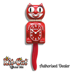 Scarlet Lady Kit Cat Clock