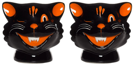 Sourpuss Cats Salt and Pepper Shakers
