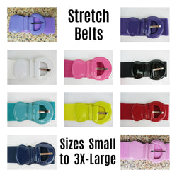Patent Stretch Belts S - 3XL