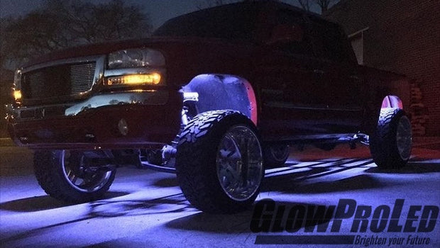HyperStrip™ Fender + Grill LED Kit - Trucks led lighting lifted trucks ford chevy dodge led glow lighting