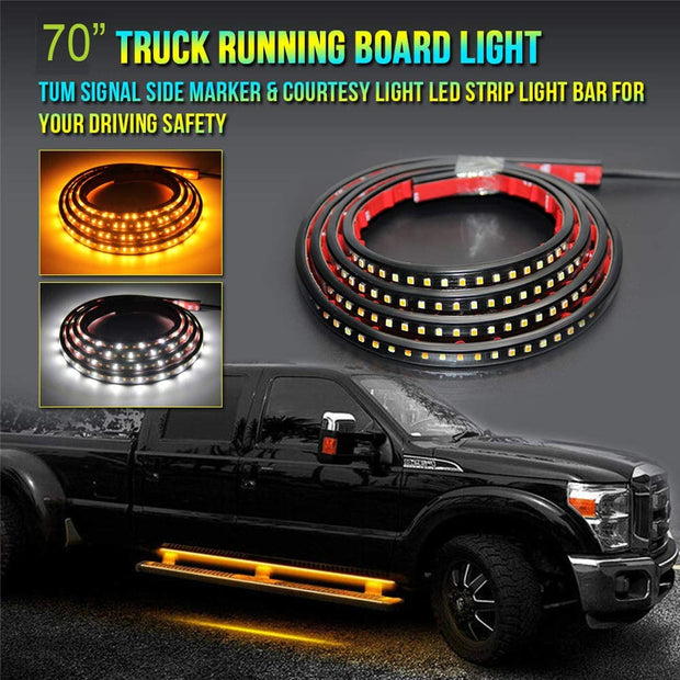 Switchback Running Board Lights - Trucks led lighting lifted trucks ford chevy dodge led glow lighting
