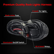 Optional Wiring Harness for LED strips/pods - Trucks led lighting lifted trucks ford chevy dodge led glow lighting