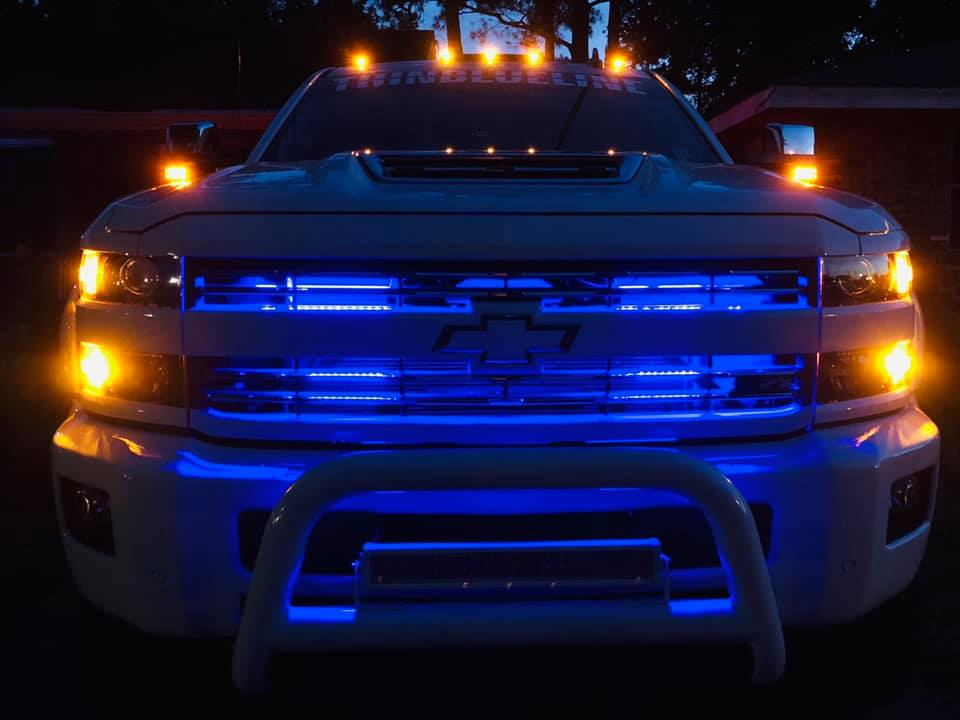 HyperStrip LED Grille Kit (choose color) - Trucks led lighting lifted trucks ford chevy dodge led glow lighting