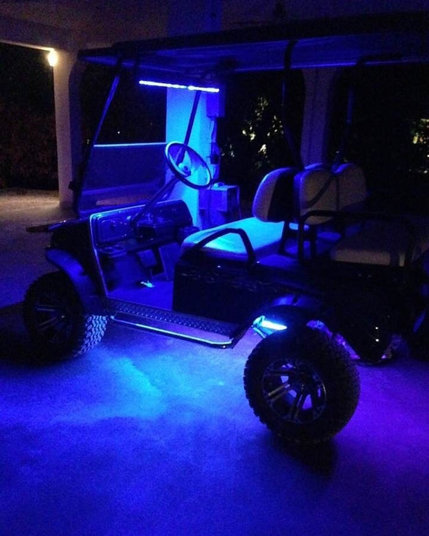 HyperStrip LED Golf Cart Kit (choose color) - Trucks led lighting lifted trucks ford chevy dodge led glow lighting
