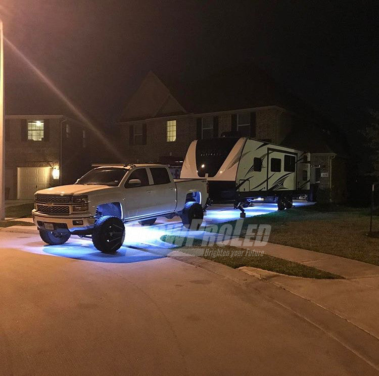 TRAILER LED UNDERGLOW KIT (avail on 4 colors) - LED STRIPS