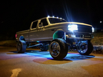 ColorFuZion™ RGB Rock Lights - Trucks led lighting lifted trucks ford chevy dodge led glow lighting