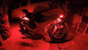 BIKE LIGHTS (avail in 4 colors) - LED STRIPS
