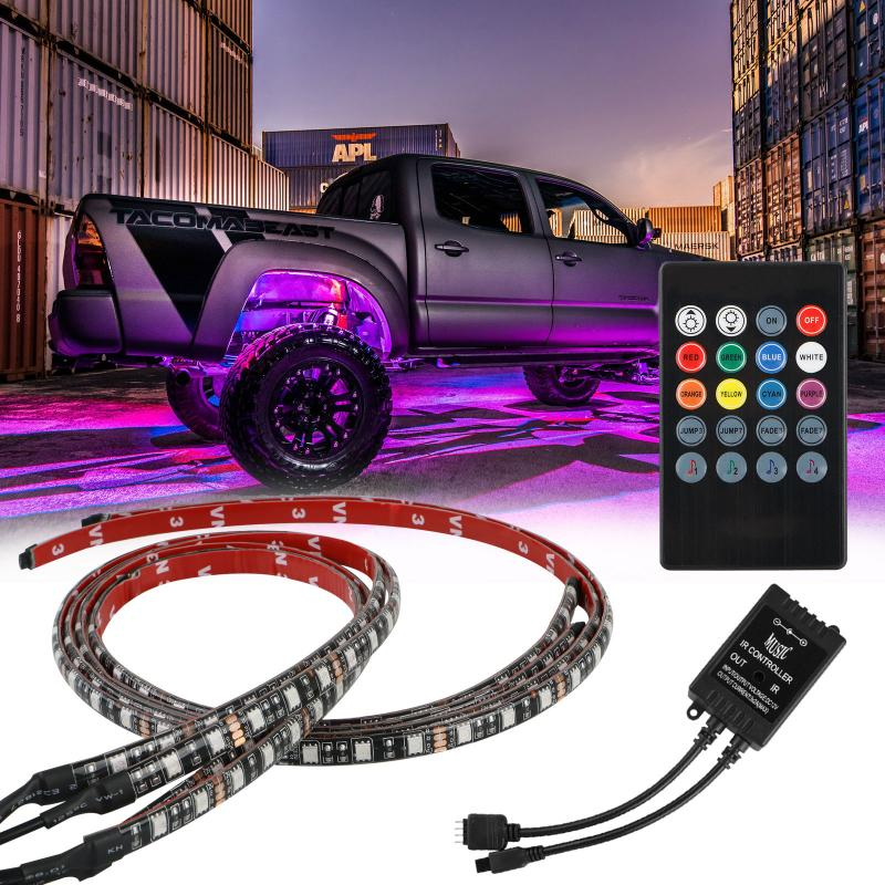 UnderGlow-X RGB - Trucks led lighting lifted trucks ford chevy dodge led glow lighting