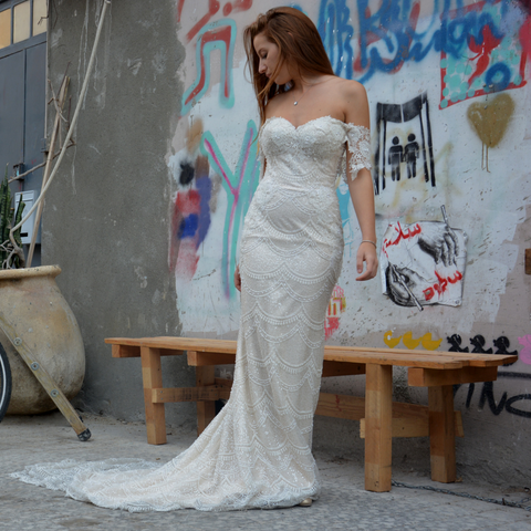 YAKI RAVID 'MERMAID' GOWN
