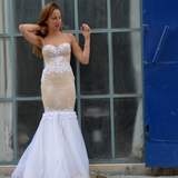 YAKI RAVID 'MERMAID' GOWN - BridalBop