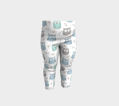 Baby Leggings - Precious Owls