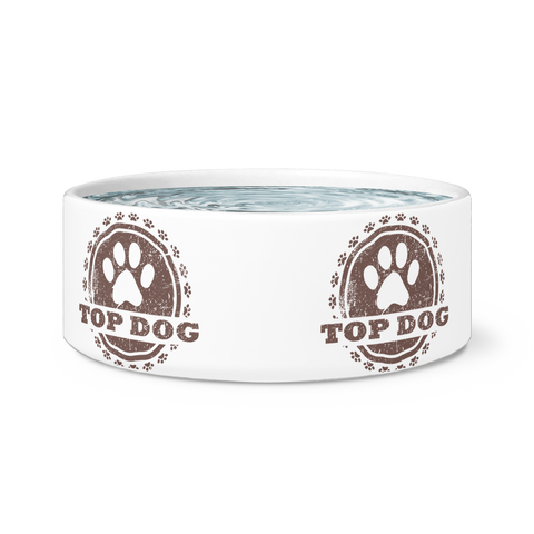 Top Dog Pet Bowl