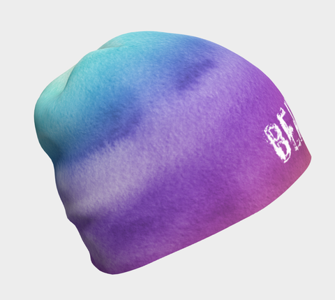 Contemporary Watercolor Beautiful Beanie