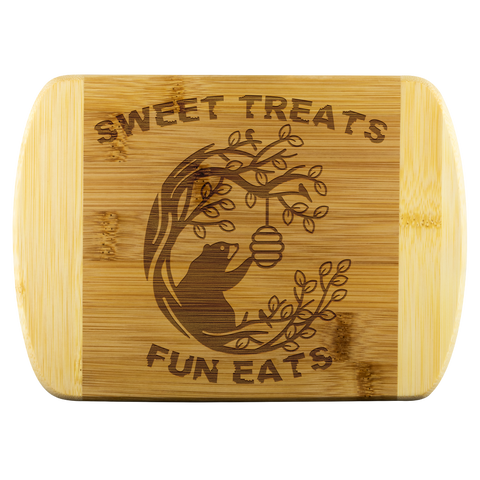 Sweet Treats Fun Eats Cutting Board
