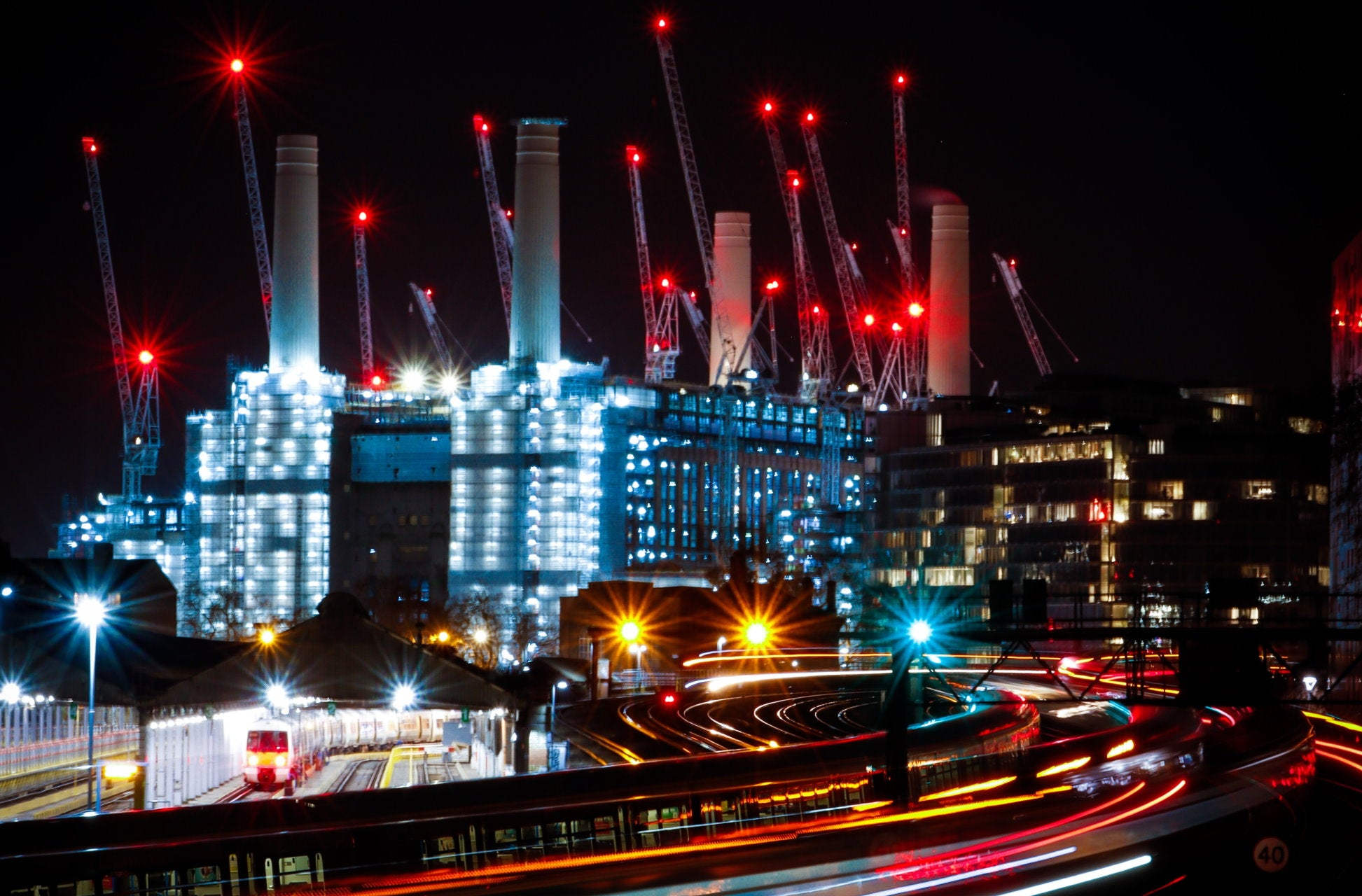 Battersea Power Station Then, Now & The Future