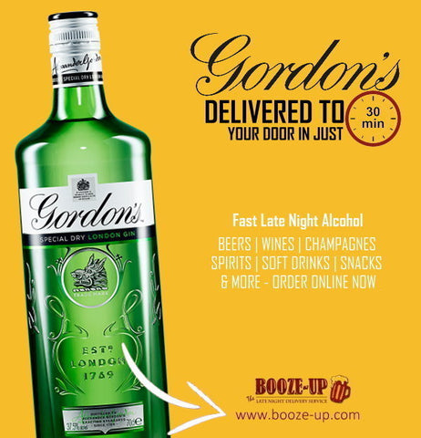 Gordons Gin Delivery