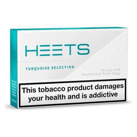 Heets Tobacco Turquoise