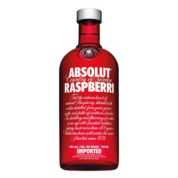 Absolut Raspberri Flavoured Vodka