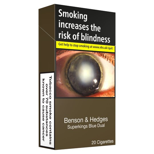 Benson & Hedges Blue Dual Cigarettes