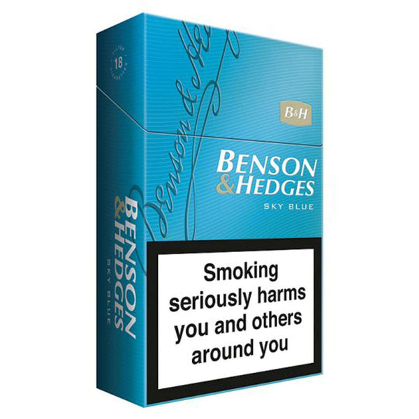 Benson & Hedges Blue Cigarettes