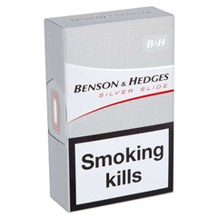 Benson & Hedges Silver Cigarettes | Cigarettes Delivery | Booze Up