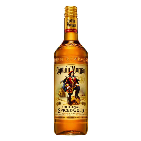 Captain Morgan Spiced Rum + Captain Morgan Spiced Rum